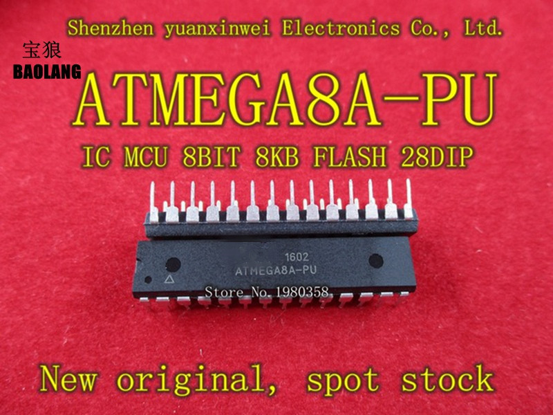 ATMEGA8A PU ATMEGA8A dip28 100pcs have stock-in Replacement Parts & Accessories from Consumer Electronics