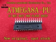 ATMEGA8A PU ATMEGA8A dip28 100pcs יש במלאי