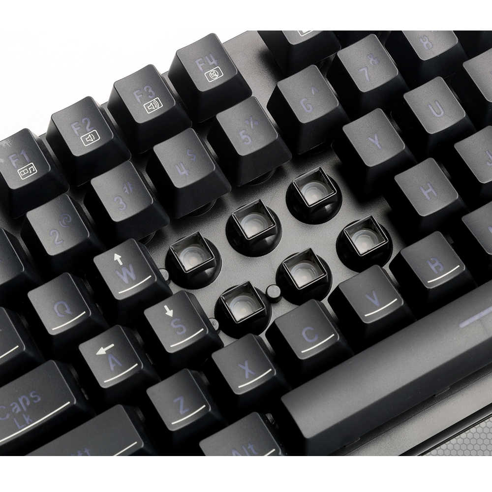 Redragon K505 USB الألعاب غشاء لوحة المفاتيح مريح 7 اللون LED مفاتيح الخلفية مفتاح كامل مكافحة الظلال 104 السلكية ألعاب الكمبيوتر الكمبيوتر
