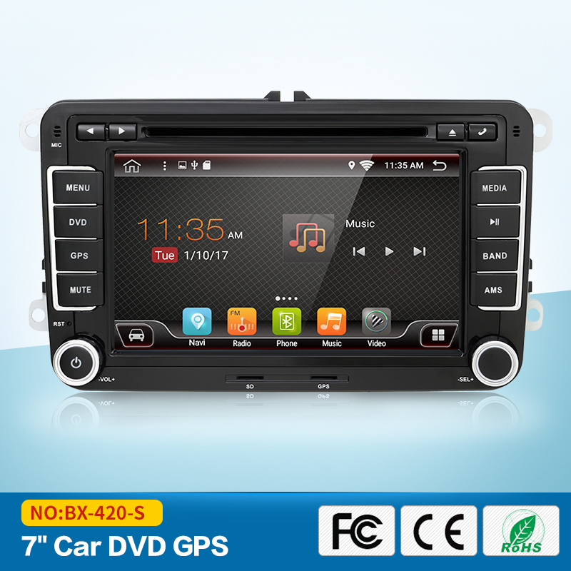 android 6 0 car dvd vw gps navigation Wifi Bluetooth Radio autoradio 2 din for Volkswagen