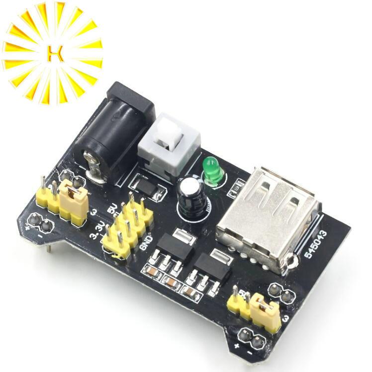 MB102 Breadboard Module 1Pcs Board For Arduino Power Supply 3.3V//5V Ic New mp