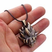 Dragon Ball Z Son Goku Shaped Necklaces