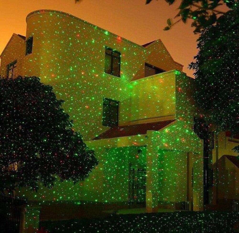 Efeito de Iluminação de Palco natal do laser estrelas projetor Comprimento of Cable : 9.84ft (3m)