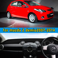 Carro-styling dashmats acessórios tampa do painel PARA mazda demio 2 2007 2008 2009 2010 2011 2013 2012 2014 rhd