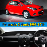 dashmats car styling accessories dashboard cover FOR mazda 2 demio 2007 2008 2009 2010 2011 2013 2012 2014 rhd
