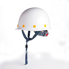 Safety Helmet Construction Head Protection Hard Hat Work Caps Industrial Engineering Shockproof FRP(Fiber Reinforced Plastics)