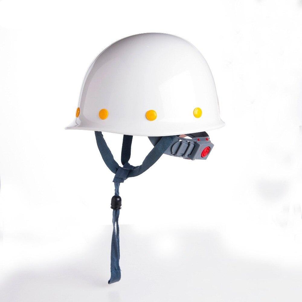 Safety Helmet Construction Head Protection Hard Hat Work Caps Industrial Engineering Shockproof FRP(Fiber Reinforced Plastics)