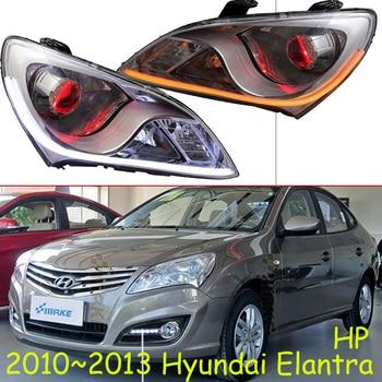 Car Styling for Hyundai Elantra Headlights 2010~2013 Elantra LED Headlight DRL Bi Xenon Lens High Low Beam Parking HID Fog Lamp