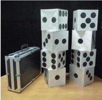 Large Dice Production Case, card magic,illusions,card tricks novelties,close up,comdy magic tricks