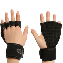 HOT 1 Pairs Sport Gloves Weight Lifting Gloves Fitness Dumbbell Wrist Support Protector For Body Building Gym Workout Exercise