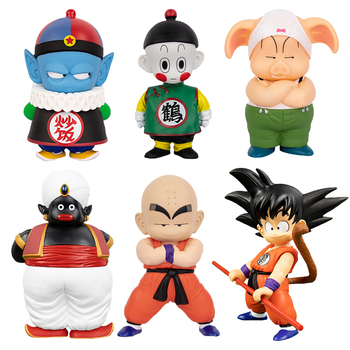 Dragon Ball Z figura de acción Chiaotzu Pilaf Goku krillin! Oolong señor Popo Anime figuras en miniatura de juguete colección de Figma