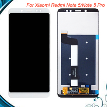 цена на 100% Tested OK For Xiaomi Redmi Note 5 / Note 5 Pro LCD Display Touch Screen Digitizer Assembly Replacement For Redmi Note5 pro