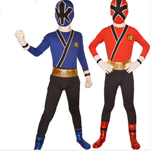 Power Rangers costume kids red Samurai cosplay children Halloween costumes for kids superhero spandex bodysuit zentai custom-in Kids Costumes u0026 Accessories ...  sc 1 st  AliExpress.com & Power Rangers costume kids red Samurai cosplay children Halloween ...