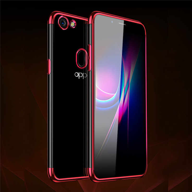 ab04b81ea7466d For OPPO F5 Full Protection Case Soft Transparent TPU phone cases for coque OPPO  F5 F
