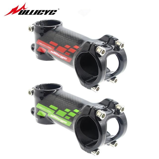 Ullicyc Completo luz de fibra de carbono 3 k bicicleta de estrada de montanha bicicleta stem 28.6-31.8 tamanho 80mm/90mm/100mm/110mm LGA80