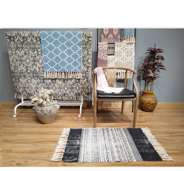 Kilim 100% Cotton Carpet Mawgie