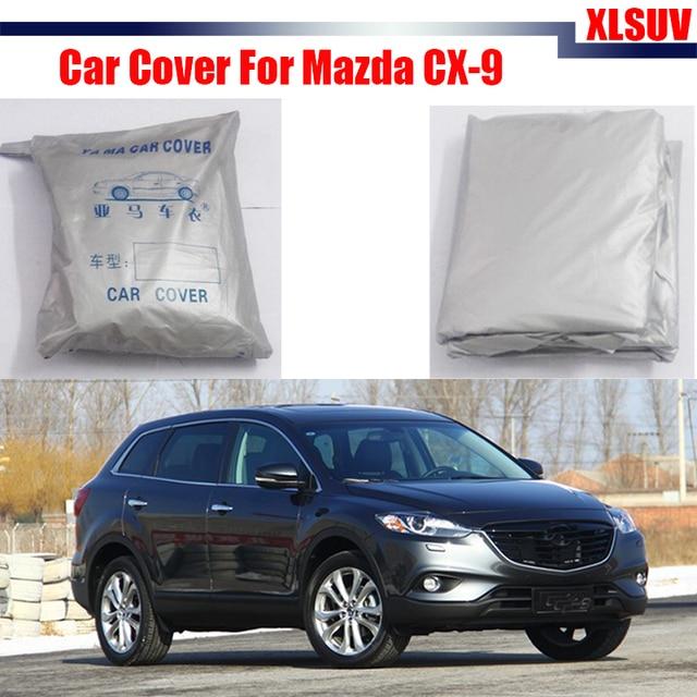 Car Cover Sun Shade Anti UV Sun Rain Snow Scratch Resistant Cover Dust Proof For Mazda CX-9