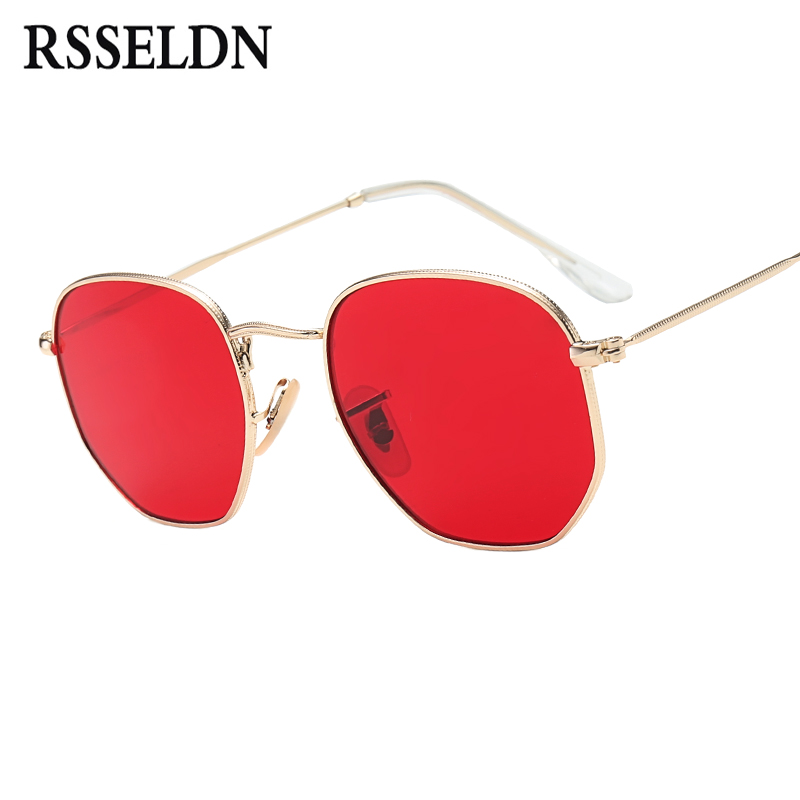 55e42a57a0 Best buy RSSELDN 2017 Fashion Round Sunglasses Women Men Gradient Sun  glasses For Woman Gold Metal Frame Eyewear Female UV400 Shades online cheap