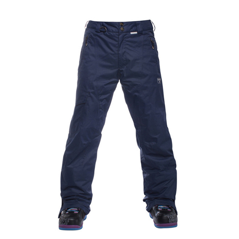 ФОТО Hot Sale Snow Pants Men Outdoor Climbing Skiing Hiking Long Trousers Windproof Thicken Snowboard Pants Ski Clothes