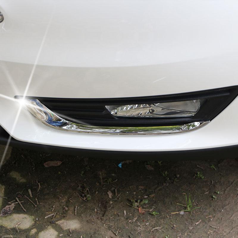2 шт. / Камплект ABS Chrome пярэднія - Знешнія аўтамабільныя аксэсуары - Фота 2