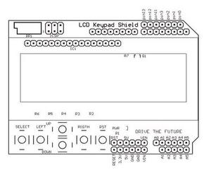 Image 5 - 10PCS LCD Keypad Shield LCD1602 LCD 1602 Module Display blue screen Green screen ATMEGA2560