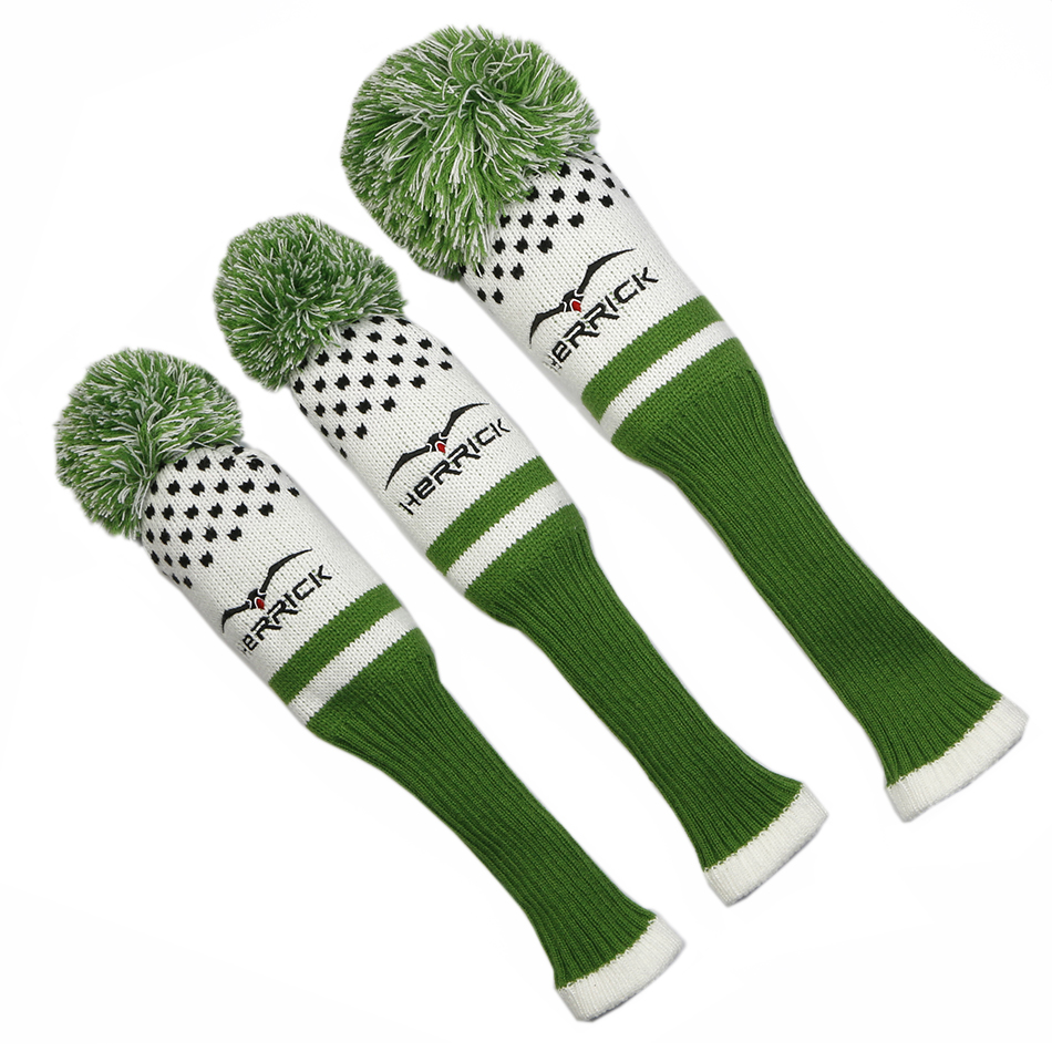 Image 4 - High quality affordable and durable wool knitted golf club headcover-in Golf Clubs from Sports & Entertainment