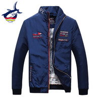 Original Brand Mens Jackets And Coats Luxury Tace & Shark Embroidery Jacket Male Clothing Spring Autumn Mens jackets