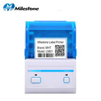 2inch Pos Label Printer Bluetooth Barcode Generated Printing Edit Android Tablet with MHT Lable App Thermal Printer MHT P16L