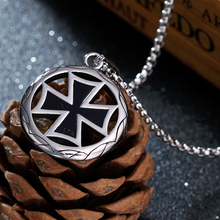316L  Stainless Steel Cross Pendant Necklace Creative Gift Boutique for Men Titanium Jewelry