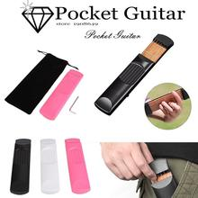 Yuker Pocket Guitar Portable For Acoustic Guitar Finger Gadget Trainer For Beginner Pratical Musical Instrument 3 colors