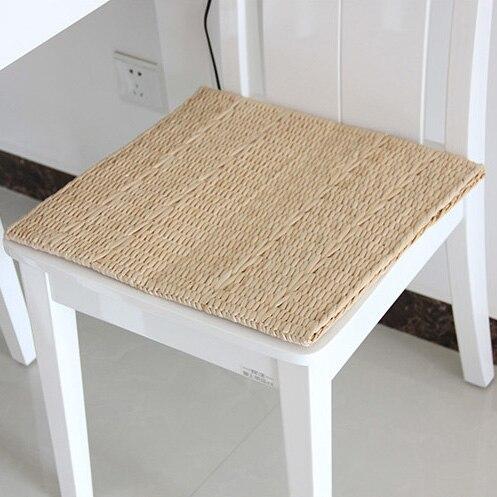 Neu Eingetroffen Handmade Stroh Bank Stuhl Kissen Tatami Bodenmatte Esszimmer  Kissen Für Bänke In Neu Eingetroffen Handmade Stroh Bank Stuhl Kissen  Tatami ...