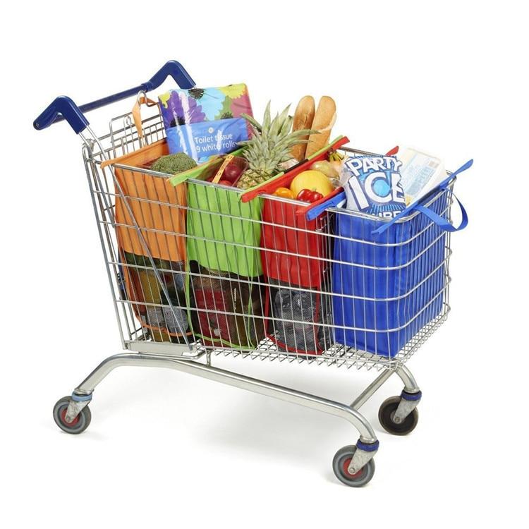 Reusable Eco-friendly Cart Supermarket Shopping Bags 1