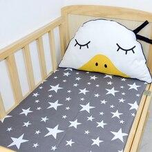 Удобные, хлопок, с принтом мультипликационных героев, уличная одежда матрасный чехол для детской кроватки 130*70 см