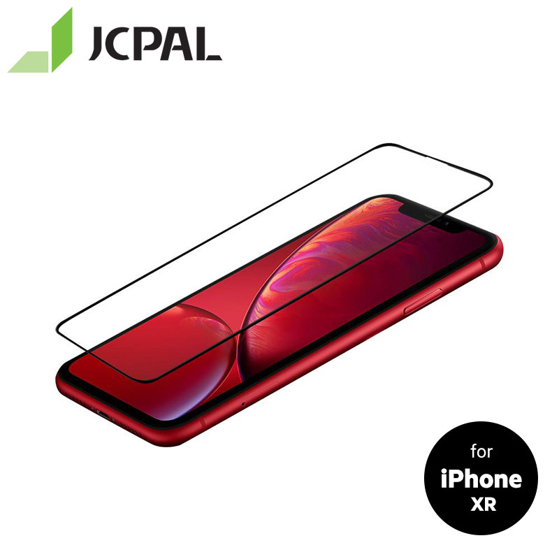 JCPAL Preserver Glass Screen Protector For IPhone XR Full Cover Screen 9H Full Body Film Anti-glare Treatment 53816