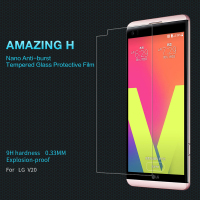 For LG V20 NILLKIN Amazing H Nano Anti Burst Tempered Glass 9H Hard Screen Protector For