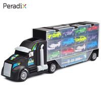 Peradix Receive A Car Transporter Plastic Multicolor Show Hobby Collection