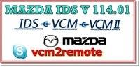 עבור מאזדה IDS תוכנה 117 + (באינטרנט + מנותק) כיול האם להתקין מרחוק תמיכת IDS שחרור רמת IDS-109