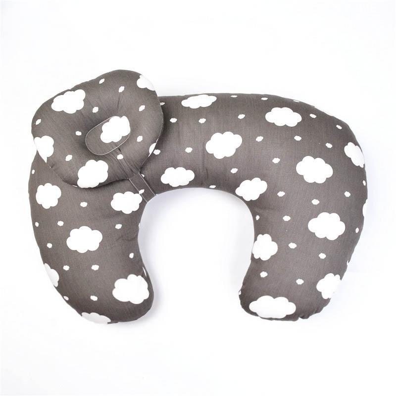 2Pcs/Set Baby Nursing Pillow Maternity Breastfeeding Pillow Infant Head Protection U-Shape Newborn Cotton Feeding Waist Cushion