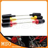 Dla Ducati MONSTER 1100 1100 S 1200 1200 S Crash Protector aluminium motocykl rama przesuwu Crash Protector