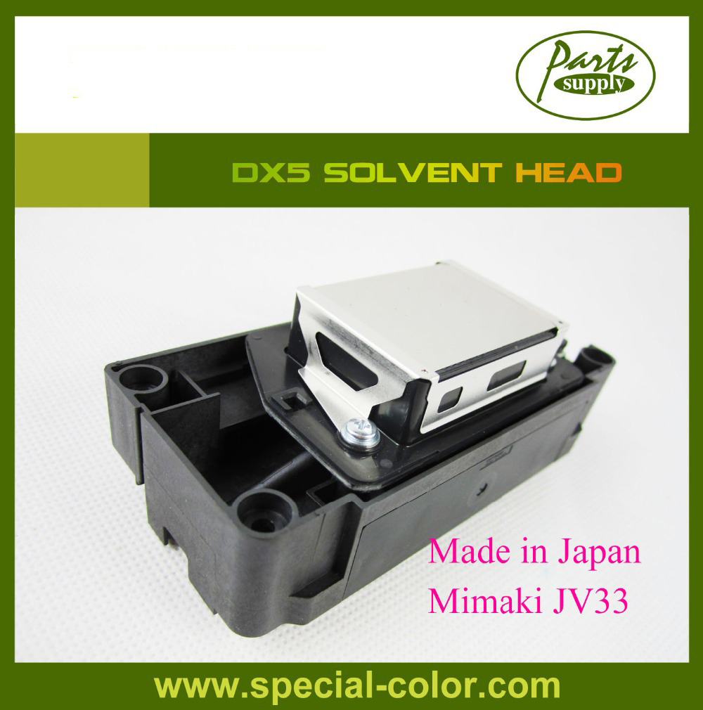 Mimaki JV33 Printhead Unlocked DX5 Solvent Print Head F186000 best price of mimaki jv3 solvent head unlocked