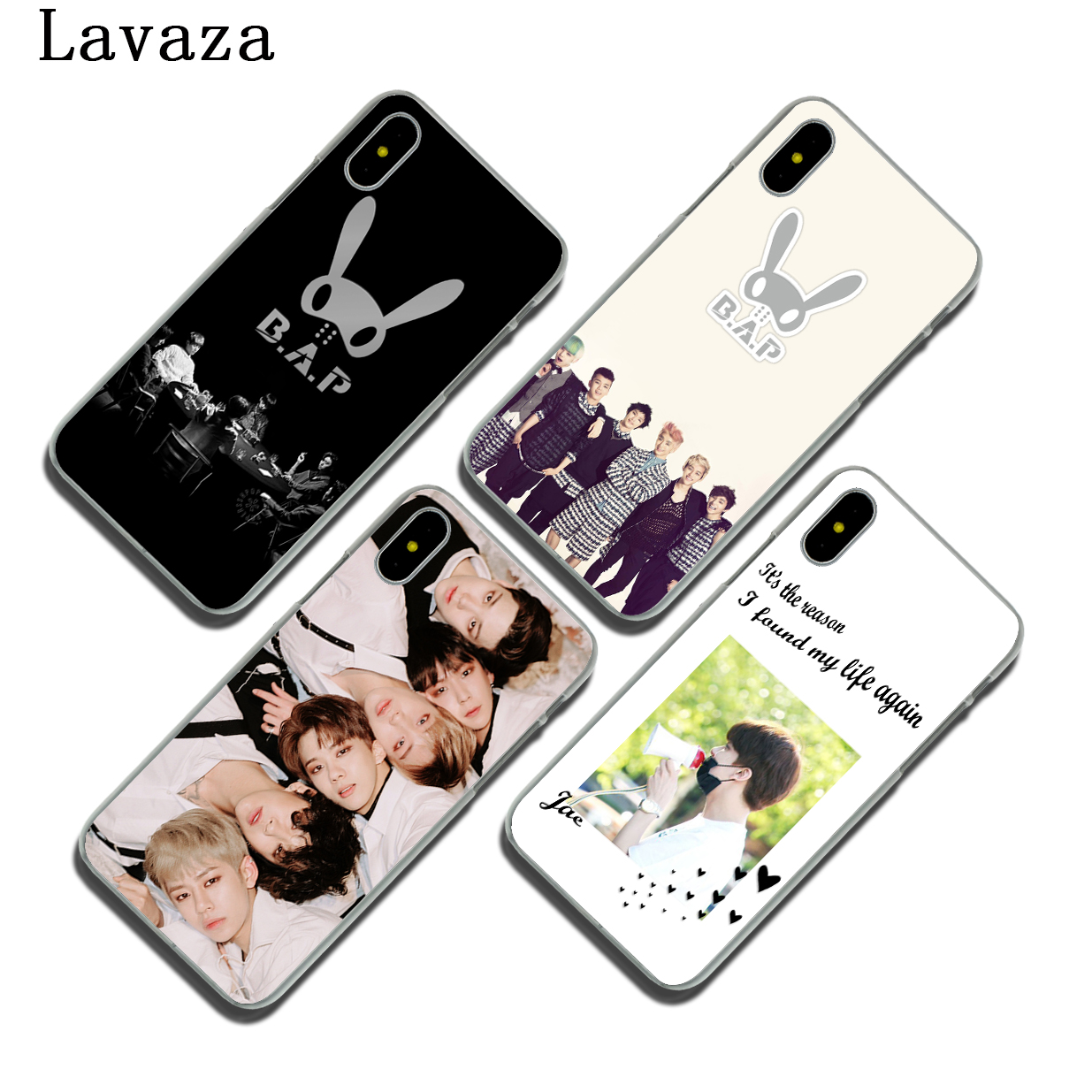 Lavaza B.A.P Best Absolute Perfect Hard Phone Case for Apple iPhone 8 10 7 6 6S Plus 5 5S SE 5C 4 4S Cover for iPhone X 8 7