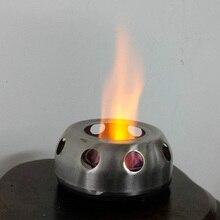 1 шт. плита из нержавеющей стали Портативный Ультра-светильник спиртовой печи открытый кемпинг bbq плита печь с подставкой