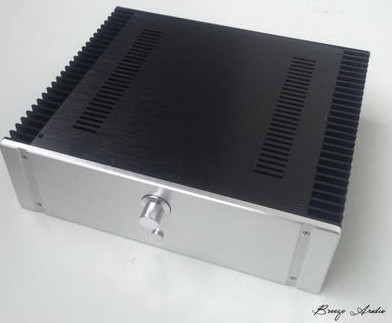 Breeze audio aluminum amplifier Chassis /case 4313 breeze audio diy aluminum chassis power