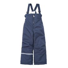 Moomin 2019 winter warm blue boys winter overall waterproof outwear cotton filling zipper -10 degree childrens overall(China)