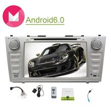 Android6.0 DIN Car Stereo for Toyota Camry in Dash Din Car GPS Navigation 3D Map Car DVD Player 1080P Video Play Car Monitor SWC