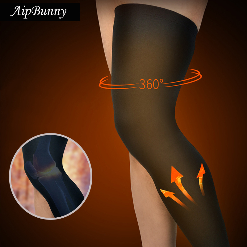 2 Pcs Cashmere Sock Sport fitness Long Legwarmers for Winter Cycling Running Hiking Compression Leg Sleeves Knee Protector