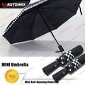 For Mini Cooper Black Car Automatic Folding Umbrella Countryman Clubman Roster F55 F56 R55 R56 R57 R58 R59 R60 R61 Accessories