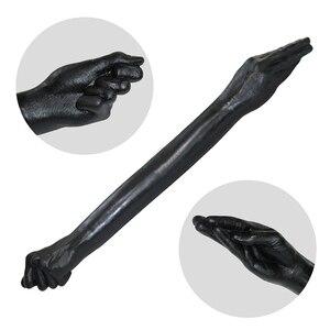 Image 4 - IGRARK Yeni! Çift uçlu Fisting Kol Yapay Penis Büyük Yumruk ve Palmiye Lezbiyen Için Seks Oyuncak SM Oyuncu Yetişkin Ürünleri Seks Shop