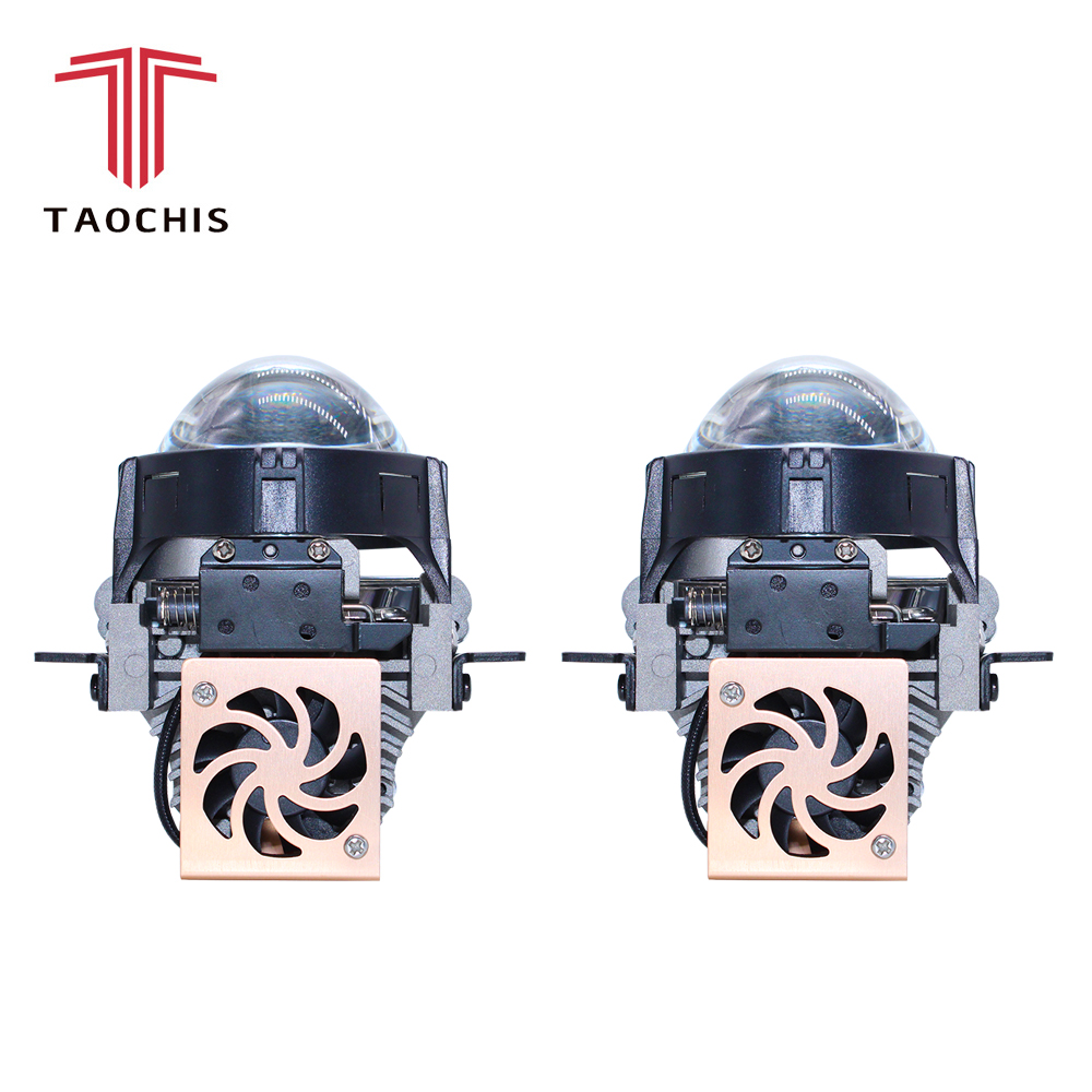 TAOCHIS Auto Car Styling 2.5 inch Bi-LED projector lens LED Head light Lens Retrofit upgrade Universal Fast brightTAOCHIS Auto Car Styling 2.5 inch Bi-LED projector lens LED Head light Lens Retrofit upgrade Universal Fast bright