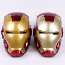 High Quality Iron Man Helmet Ring Sensor Switch Tony Stark Cosplay Mask